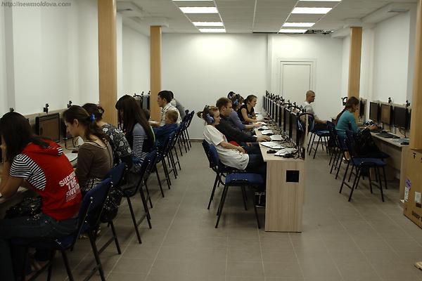 Internet Cafe, Chisinau, Moldova