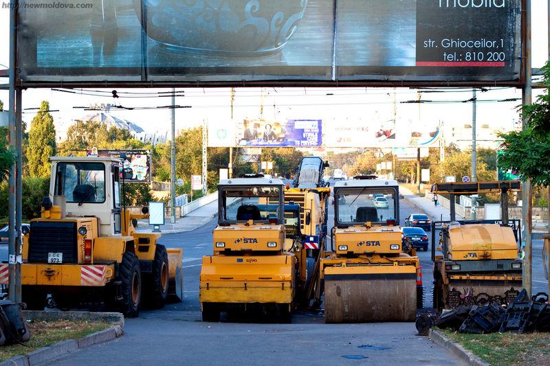 Техника для ремонта дорог